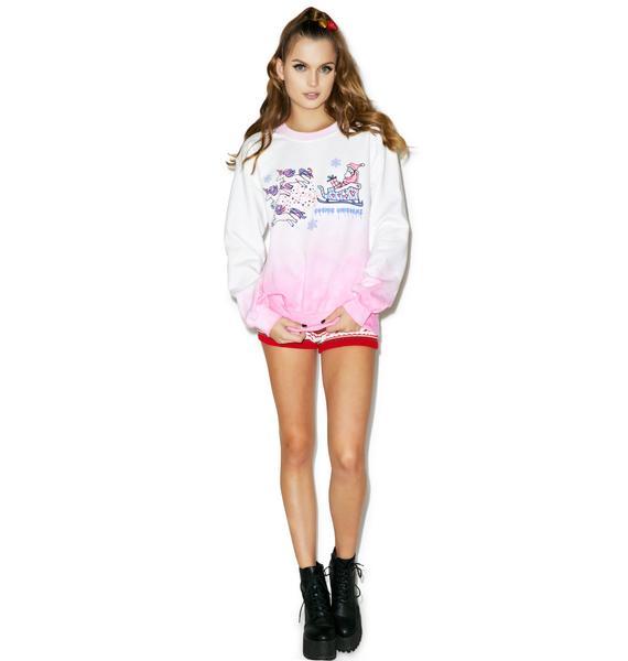 Cosmic Unicorn Sleigh Sweatshirt