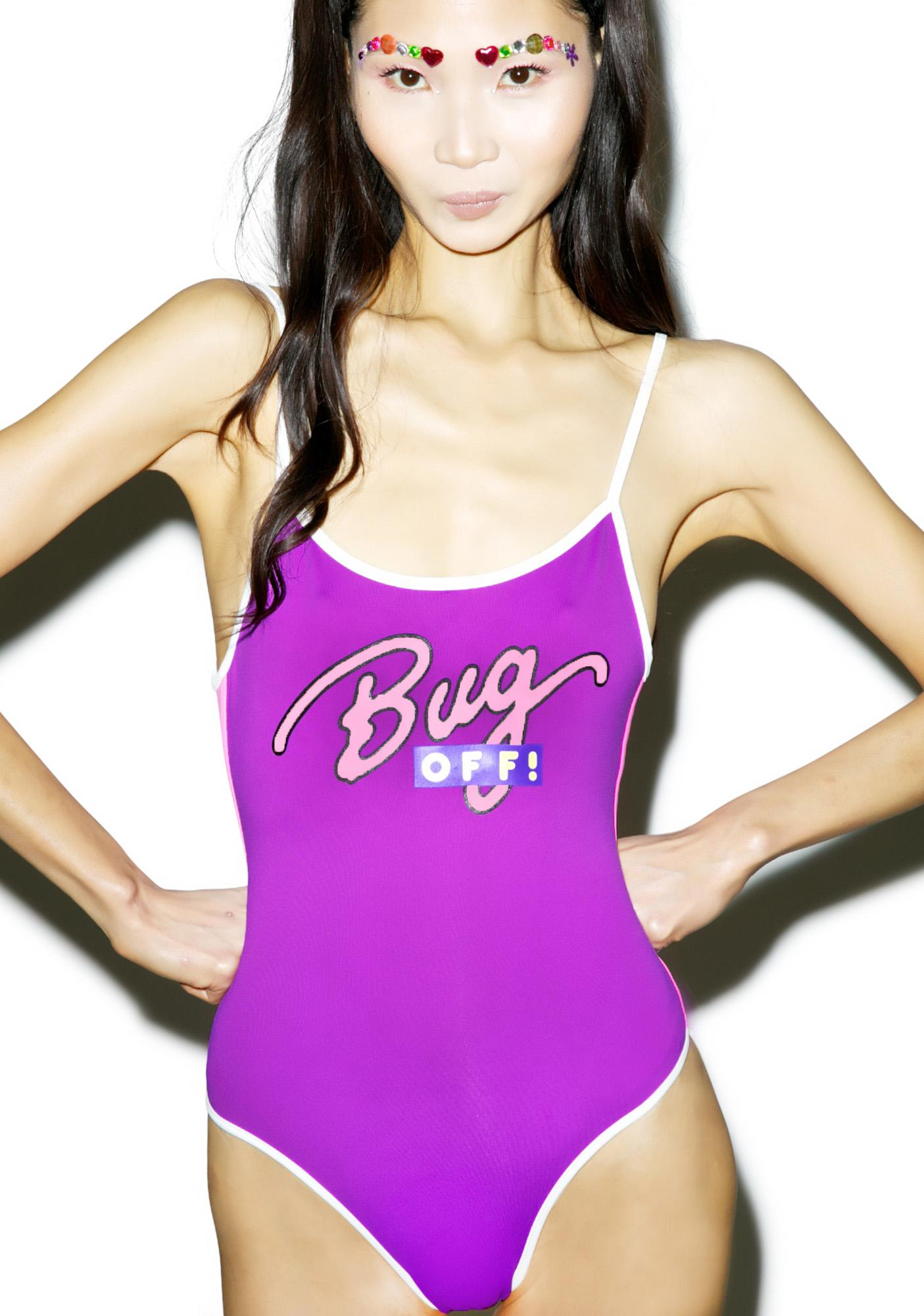 Mandalynn Swim Bug Off! One Piece Swimsuit
