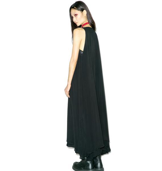Widow Shroud Of Truth Maxi Dress