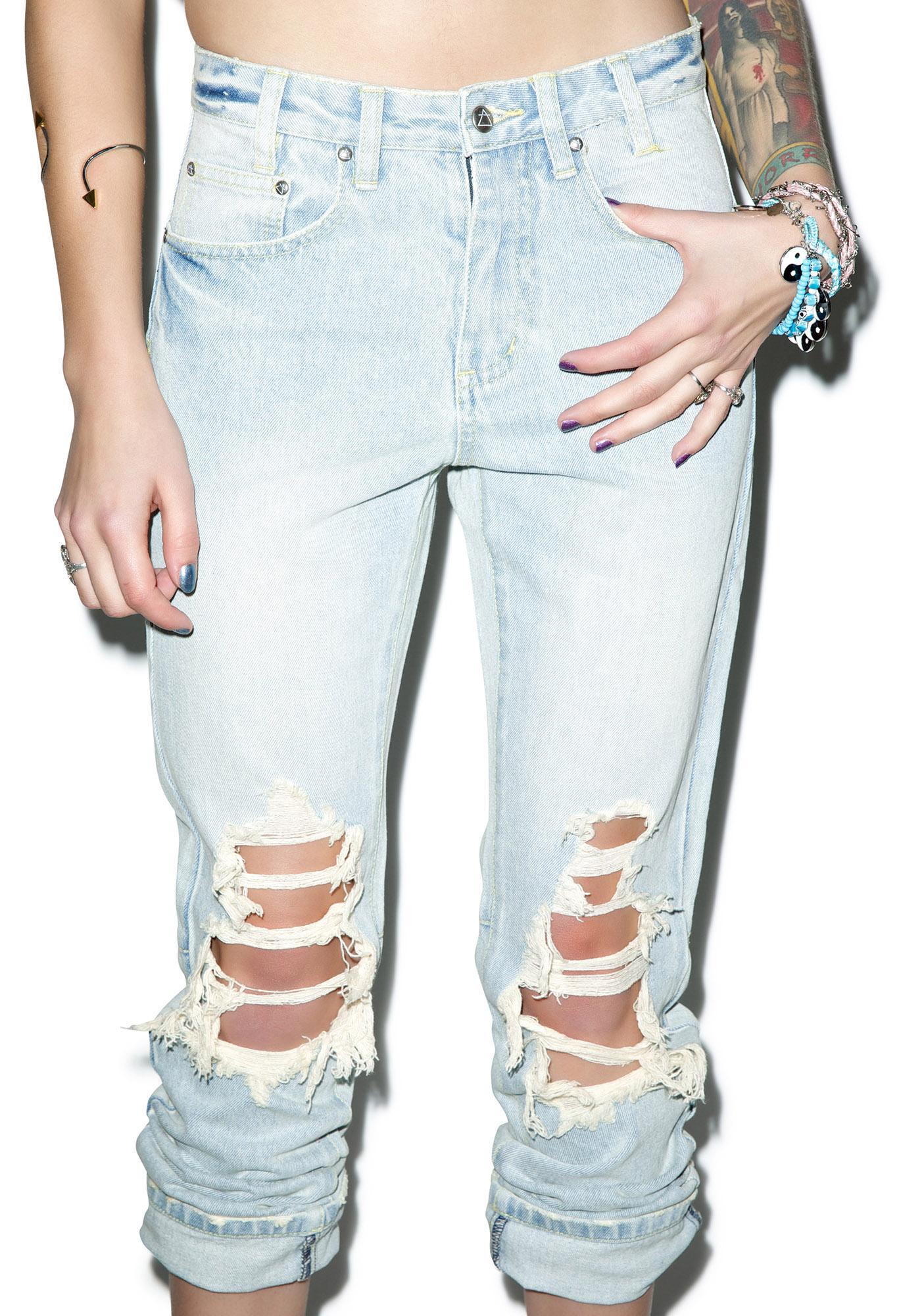 Somedays Lovin Pilot Rigid Denim Kingswood Jeans