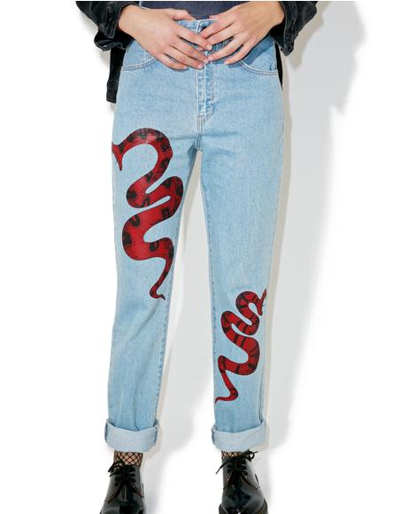 Poison Mom Jeans