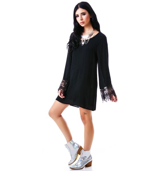 Hippy Bell Sleeve Dress
