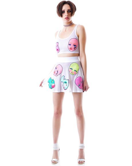 Doll Face Skater Skirt