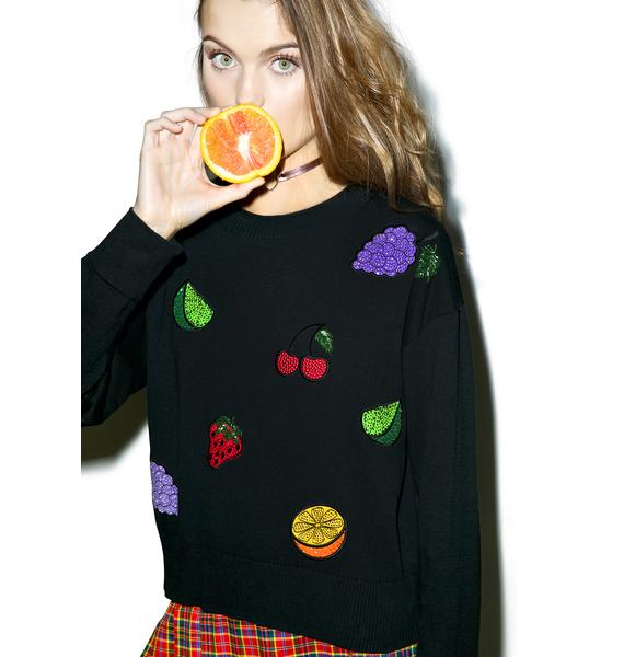 Wildfox Couture Fruity Fader Charlotte Sweater