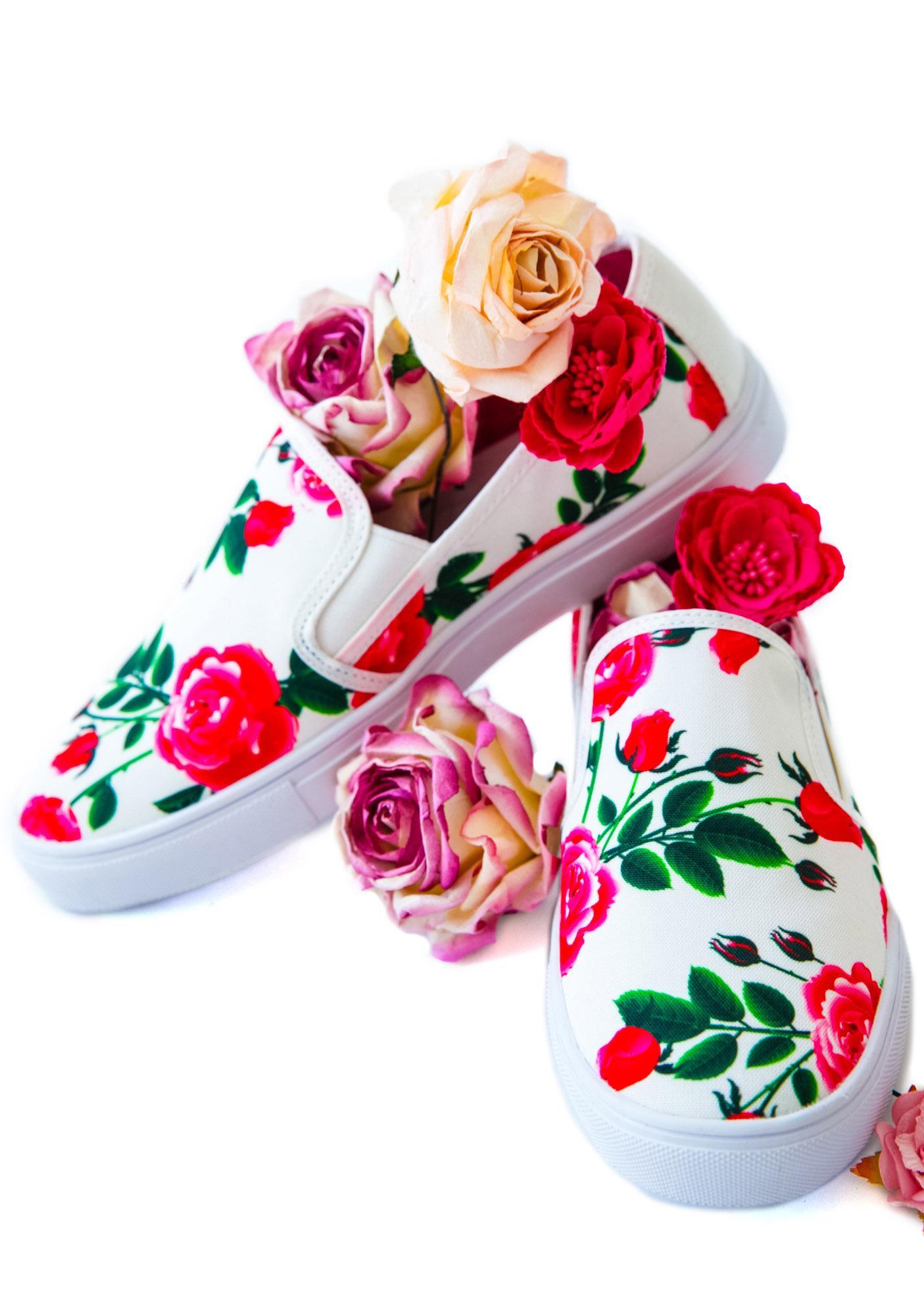Y.R.U. Chill Floral Slip-On Sneaker