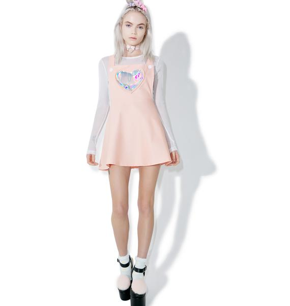 Electra Heart Overall Dress
