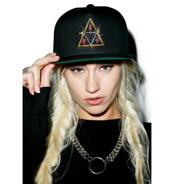 HUF Swords Triple Triangle Snapback Hat