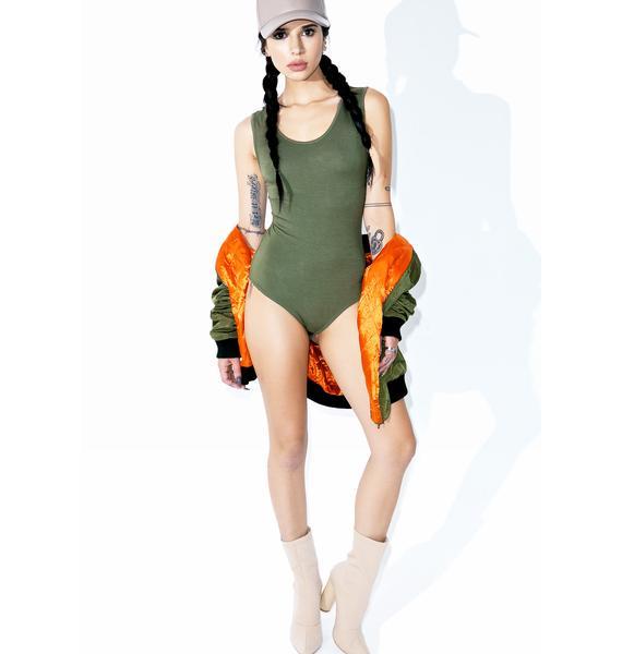 BLQ BASIQ Whirlwind Bodysuit