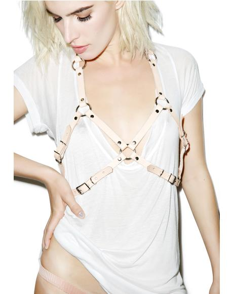 Nude 'Tude Buckled Bra Harness