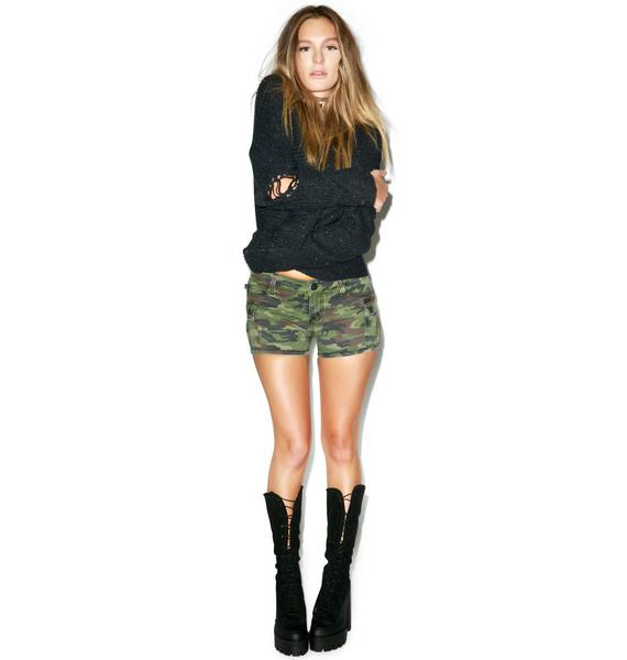 Tripp NYC Camo Cargo Shorts