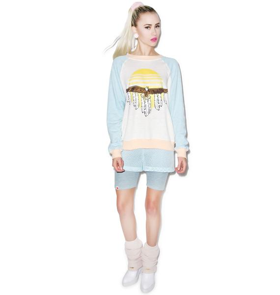 Wildfox Couture Eagle Kim's Sweater