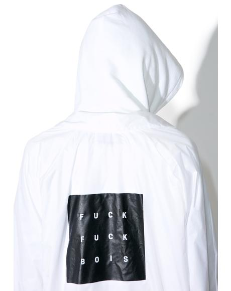 Whiteout Fuck Bois Coaches Jacket