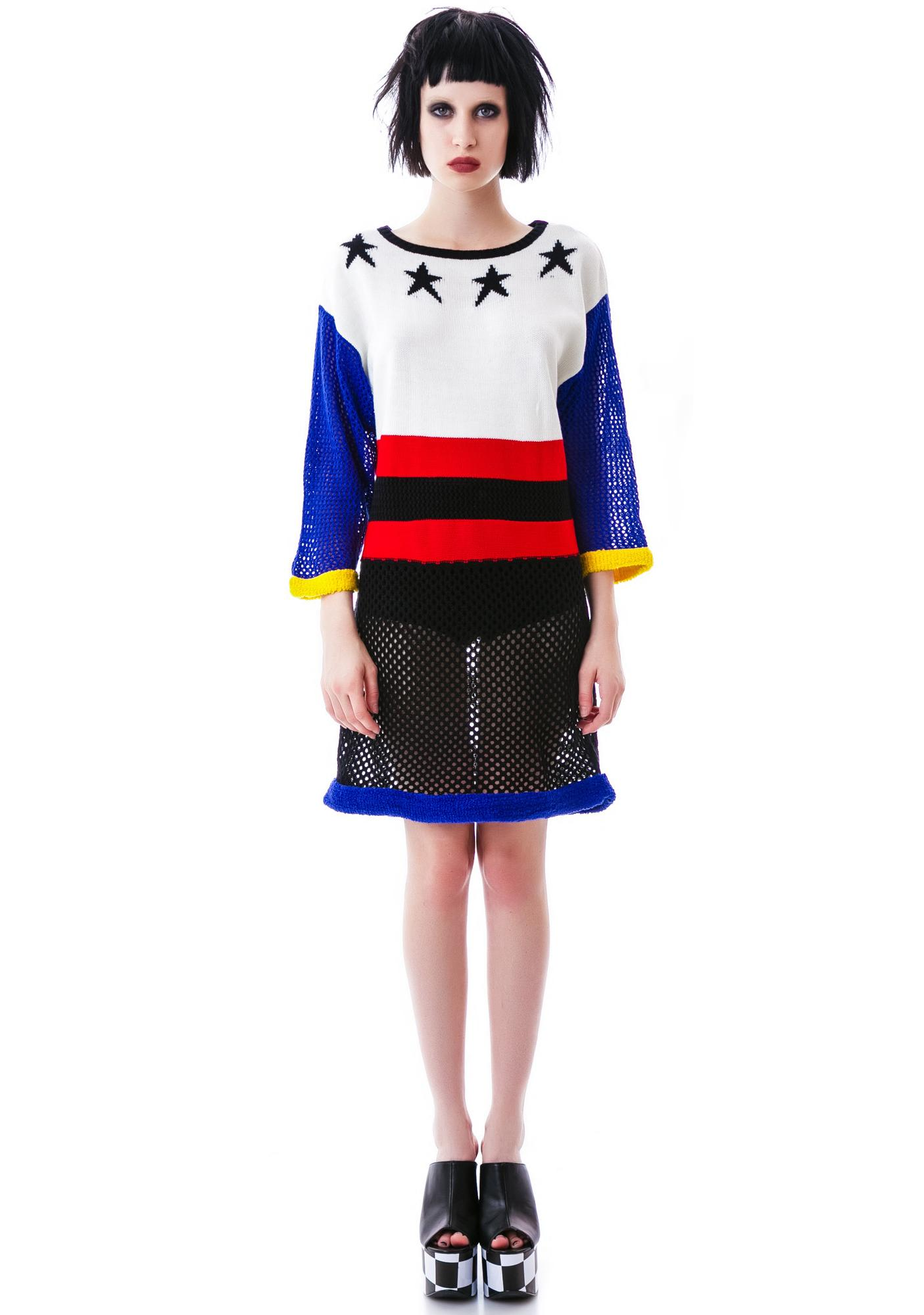 Salute Yer Stars Sweater Dress