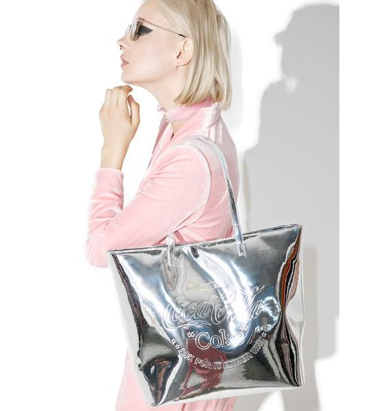 Skinnydip Coke Tote Bag