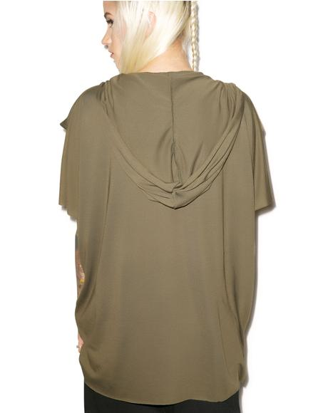 MNML Mentats Cowl Neck Top