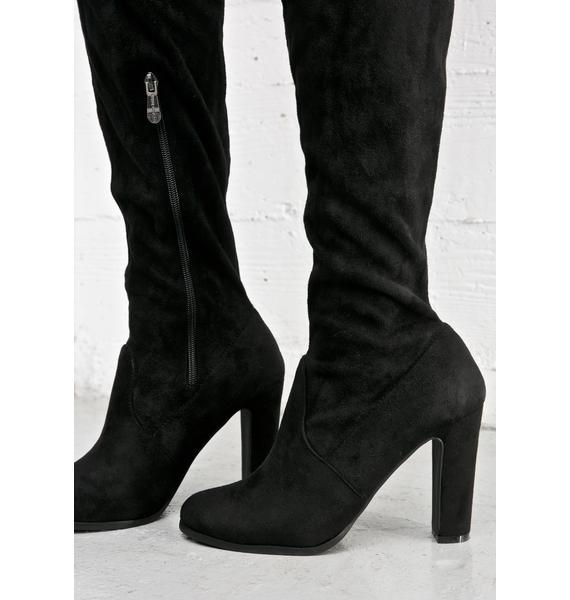 Silencer Thigh-High Boots