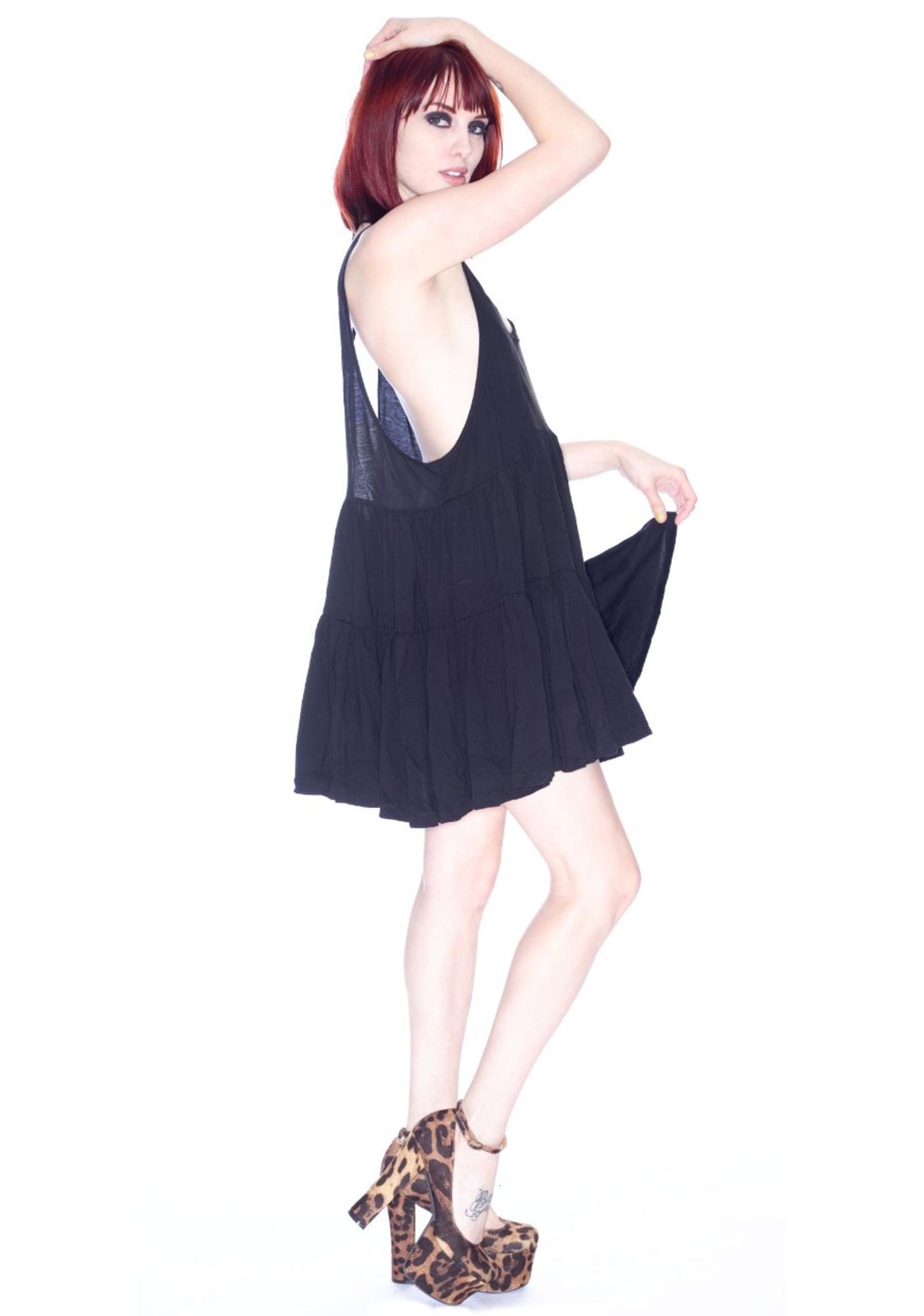 One Teaspoon Black Evil Dress