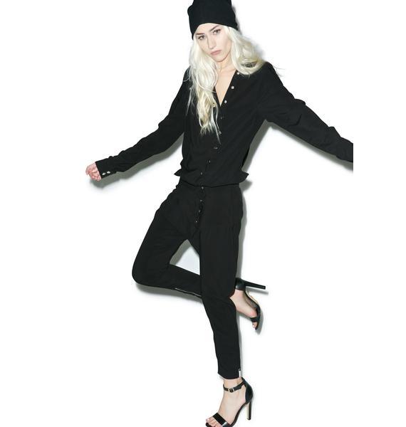 One Teaspoon Le Devine Studded Jumpsuit