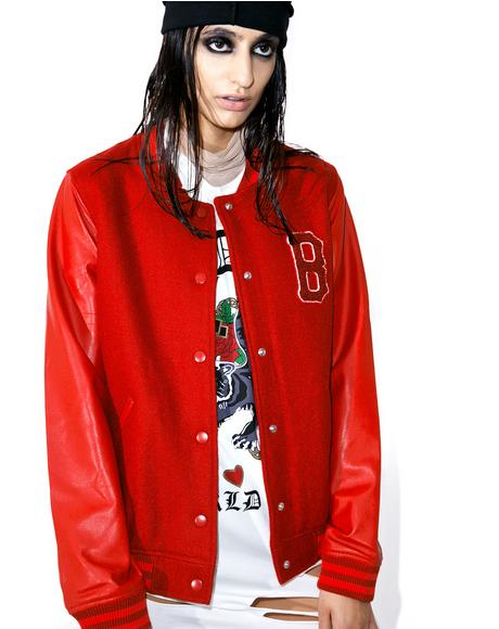 Blood Of My Blood Varsity Jacket
