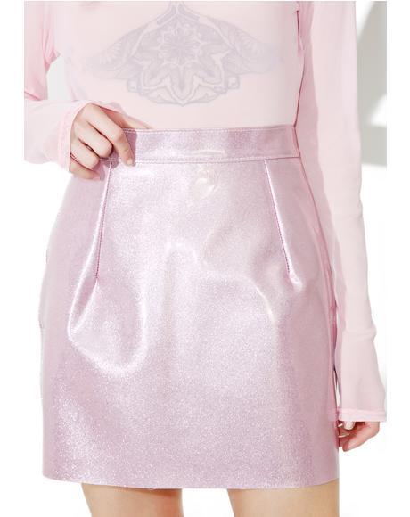 Suga BB Vinyl Skirt