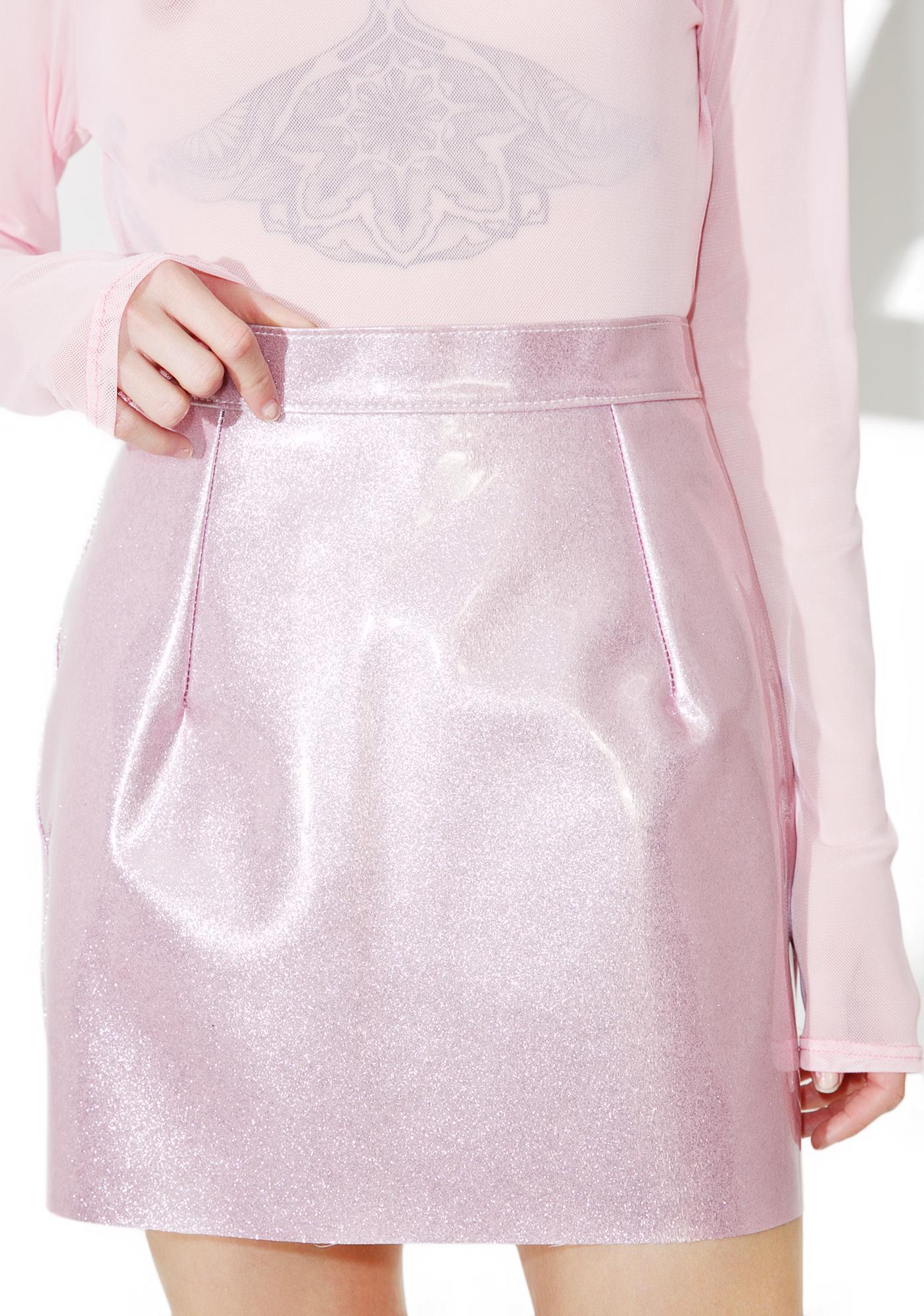 Bunny Holiday Suga BB Vinyl Skirt