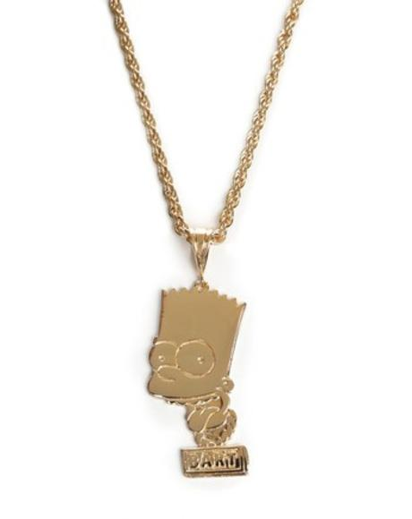 Bart Face Necklace