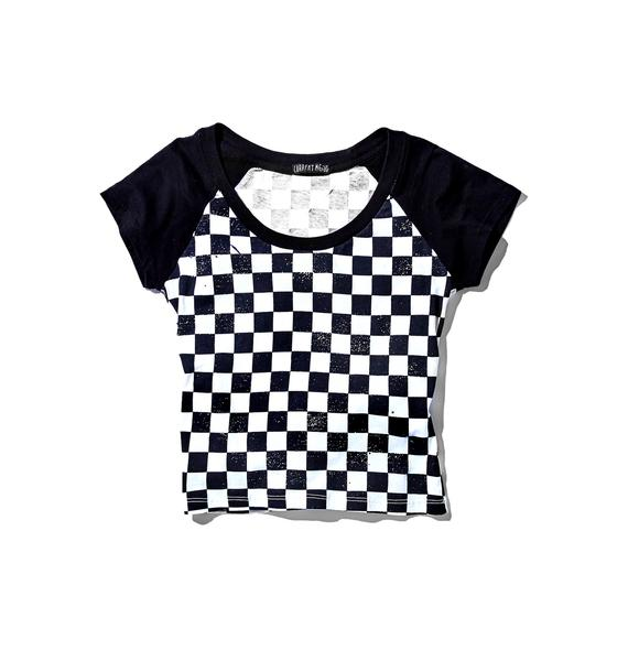 Current Mood Message 2 You Cropped Raglan