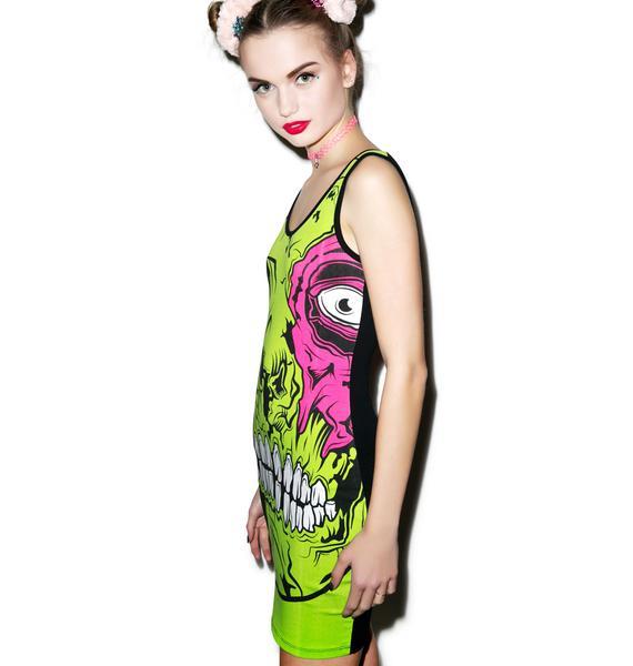Iron Fist Zombie Chomper Tank Dress