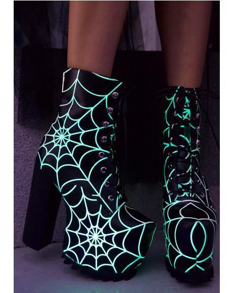 Terror Glow Boots