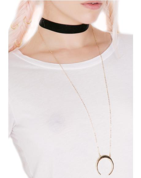 Pendulum Layered Necklace