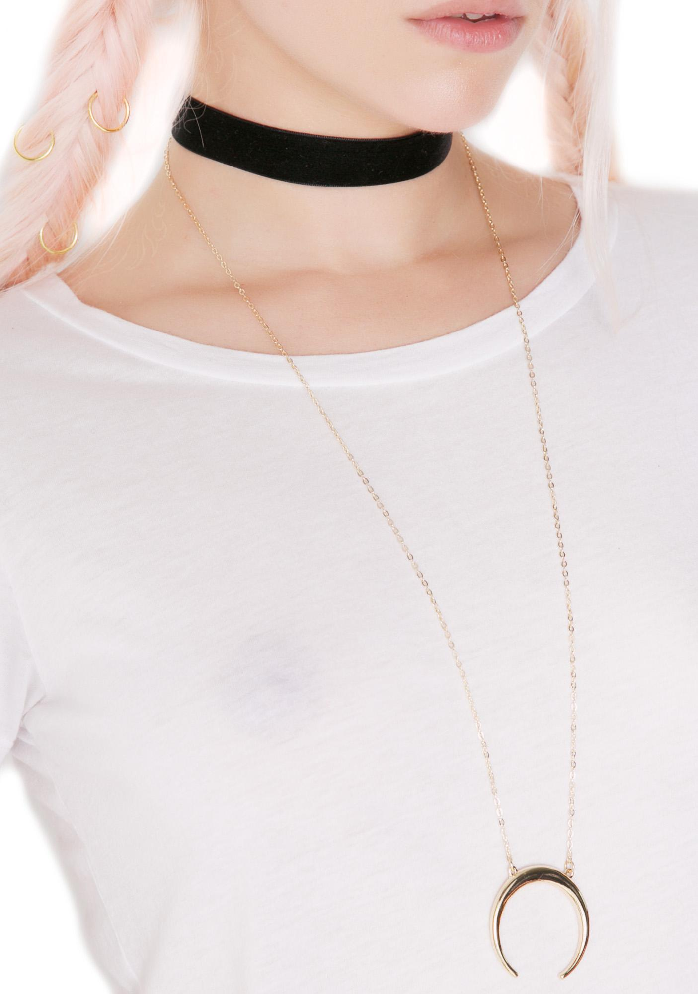 Pendulum Layered Necklace