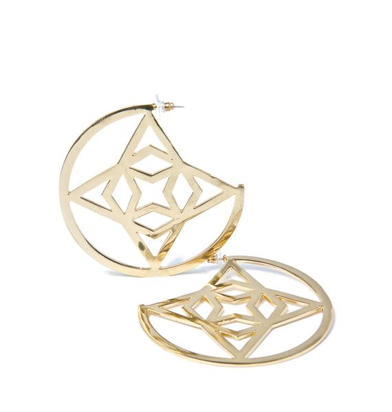 Runic Charm Earrings