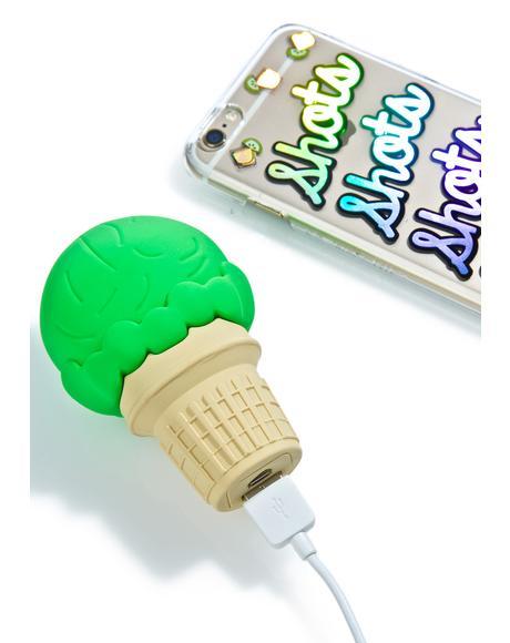 Nice Cream Cone Power Bank