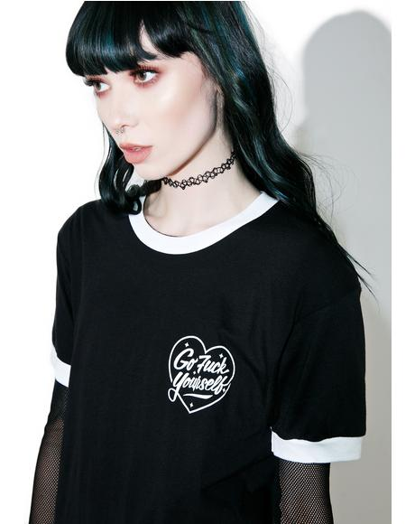 Love Lost Ringer Tee