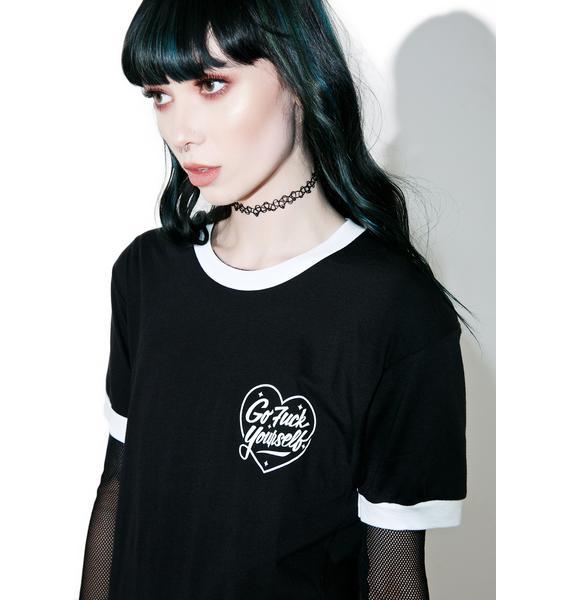 Rebel8 x Dolls Kill Love Lost Ringer Tee
