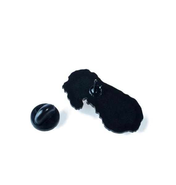 Unicorn Rockstar Midge The Poodle Pin