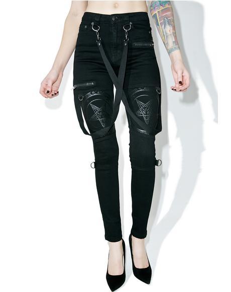 Grave Slave Skinny Jeans