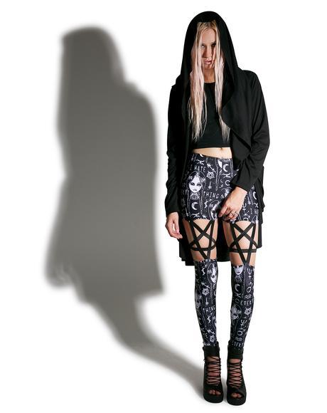 Lurking Evil Pentagram Leggings