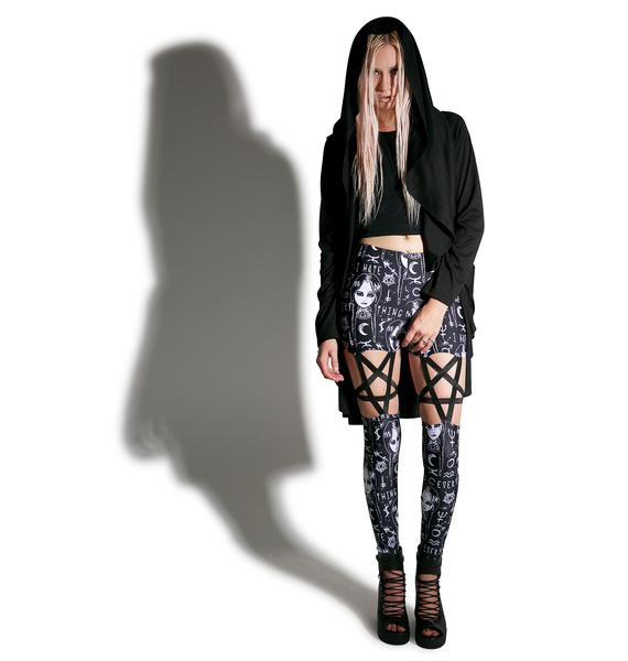 Lurking Evil Pentagram Leggings