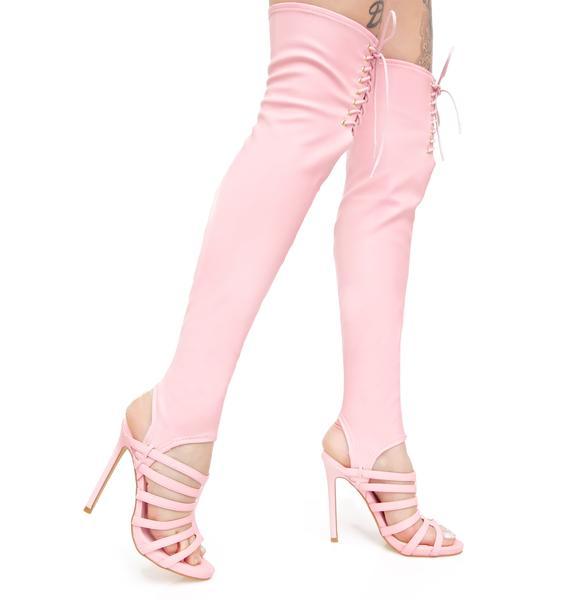 Privileged June Thigh-High Heels