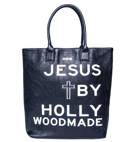 Hollywood Made UC Jesus Tote Bag