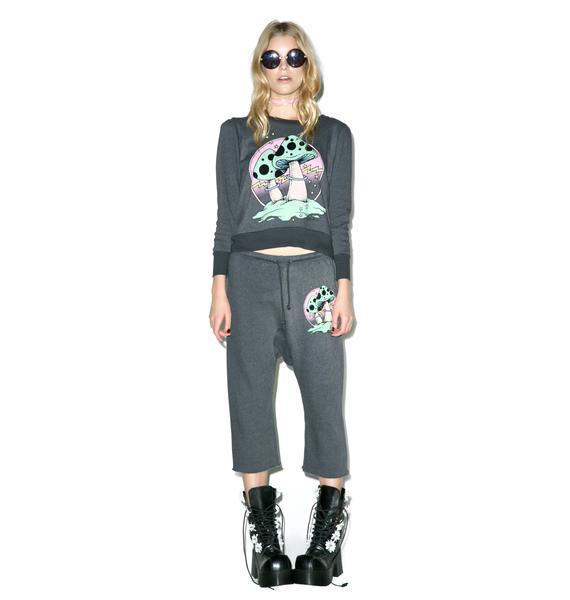 Wildfox Couture Fungi Couch Princess Joggers