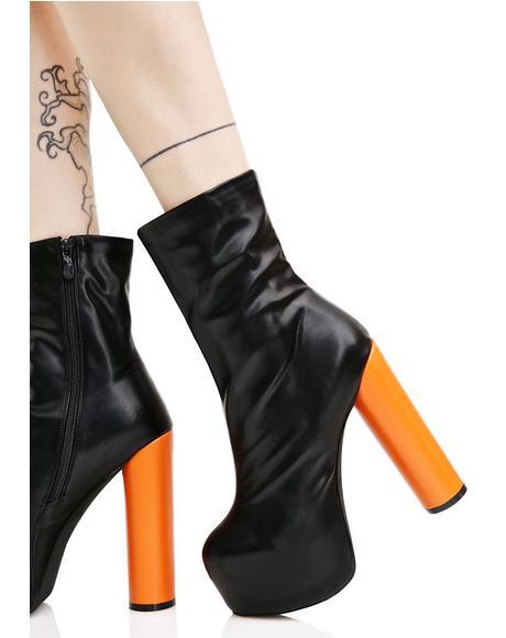 Jessa Chunky Boots