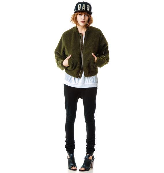 Cheap Monday Teddy Bomber Jacket
