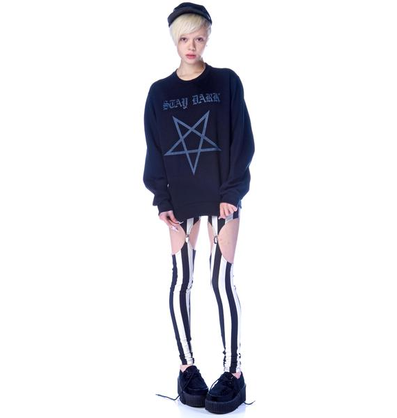 Stay Dark Pentagram Sweatshirt