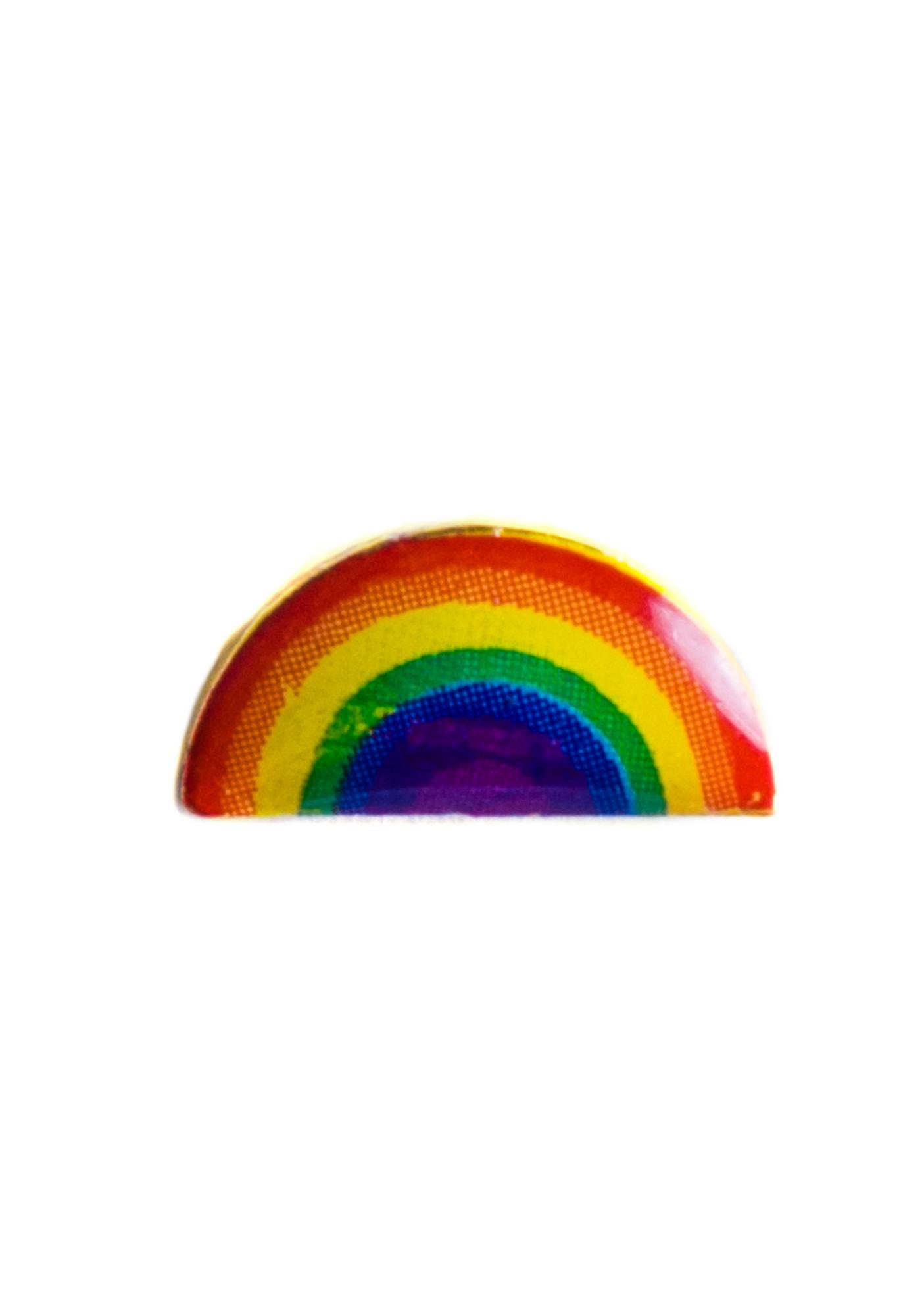 Rainbow Bright Ear Stud