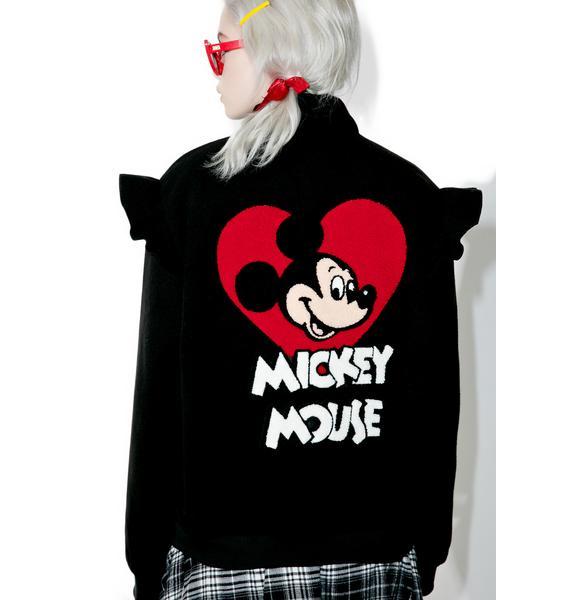 Lazy Oaf X Disney Mickey Mouse Bomber Jacket