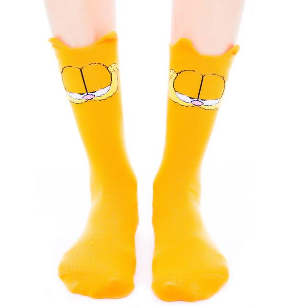 Lazy Oaf x Garfield Socks