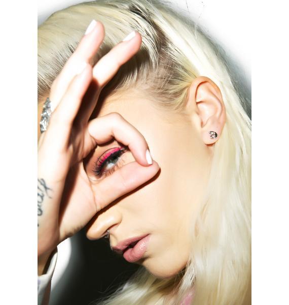 Rock n Rose OK Emoji Earrings