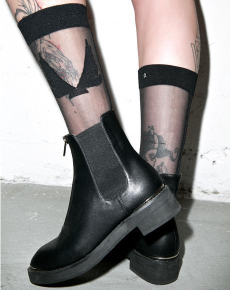 X Minimale Animale Firebird Socks